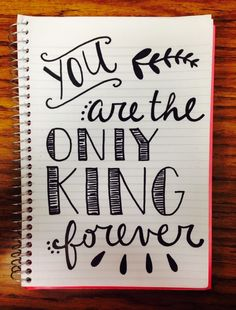 YOU ARE THE ONLY KING FOREVER • ELEVATION WORSHIP