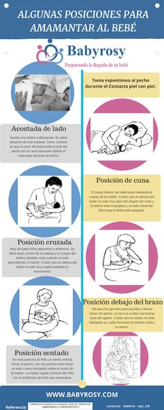 ¿Cuál es la mejor posición para dar de mamar al bebé? | Babyrosy