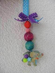 Keychain sleutelhanger zoet geluk #watdoetvanessanu #zelfmaken #craft #inspiration #kids