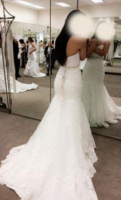 Davids Bridal V3680 Find It On PreOwnedWeddingDresses