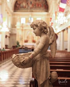 New Orleans Saint Louis Cathedral Angel Fine Art Photograph