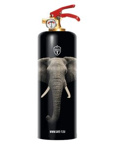 Safe T Is A Fully Functioning, Chic, Stylish And Uniquely Designed Fire  Extinguisher. Unless Dusty Red Bottles Tagged With Instructions Is Your  Thing, ...