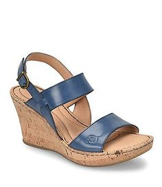 e422a15f185d Born Cheery Wedge Sandals Womens Shoes Wedges