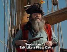 When did pirates become such a big thing? #talklikeapirate