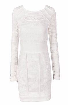 Carine White Dress