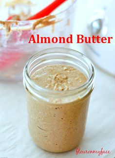 How to make Homemade Almond Butter or any healthy nut butter at home with a food processor or high powered blender. Make nut butters at home for pennies. Healthiest Nut Butter, Low Carb Recipes, Cooking Recipes, Paleo Recipes, Free Recipes, Sauce Dips, Sauces, Homemade Almond Butter, Healthy Snacks