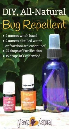 Need a bug spray for pregnant mamas and/or infants?   Follow the above directions, but add the following essential oils instead:     7-10 drops of Geranium oil      7-10 drops of Lavender oil      7-10 drops of Cedarwood oil