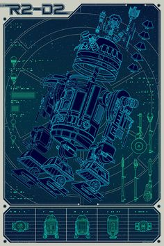 Really cool Star Wars poster over at the Mondo Tees blog. Created by Kevin Tong.