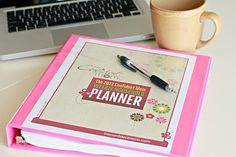 Wanting to get organized in 2013?! Then you NEED this planner! Information & discount code on the blog!
