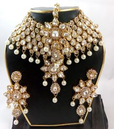 Beautiful, masterful design neck set for beautiful ladies .For more details call us on +91-9903868412 or whats app us on 9088550197.