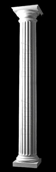 Interior Columns, Interior And Exterior, Interior Design, Porch Columns, Stone Columns, Fiberglass Columns, Column Covers, Column Design, Precast Concrete