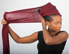 For many, many years, I have enjoyed wearing head wraps. This head covering was also known in the seventies and by other cultures as a turban. I selectively gathered and cherished The Art and Sa Pelo Natural, Natural Hair Care, Natural Hair Styles, Dreads, African Scarf, Mode Turban, Hair Wrap Scarf, African Head Wraps, Scarf Hairstyles