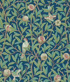Bird & Pomegranate wallpaper by Morris