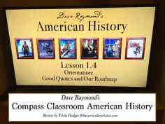 Compass Classroom American History Review (and 50% sale 8/5-8/12/15!)
