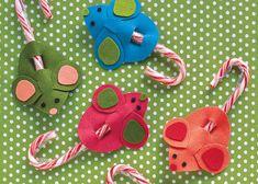 ratones de carton para servir dulces