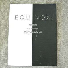 Equinox Aspects of Swedish contemporary art by 925studio on Etsy, $25.00