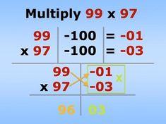 math short cut Math For Kids, Fun Math, Math Games, Math Activities, Math Math, Maths, Math Skills, Math Lessons, Learning Tips