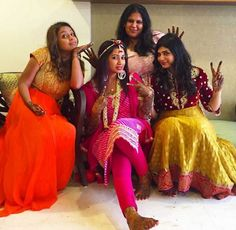 Shreya Ghoshal at her pre wedding ceremony. #Bollywood #Fashion #Style #Beauty