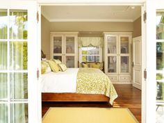 Bedroom Glass Front Closets Room With View Fashionable Storage