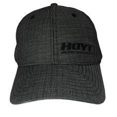 48e0b463a7858 Hoyt Fitted Black Outfitter Cap. Hoyt ArcheryRecurve BowsHunting ...