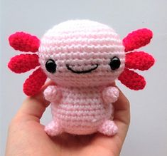 Axel The Axolotl Crochet pattern