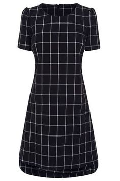 Buy Black Check Shift from the Next UK online shop