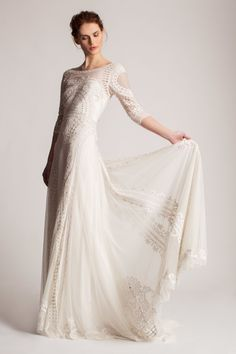 A look from the Temperley London bridal collection for spring 2016. Photo: Temperley London