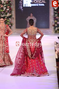 Nickie Nina at PFDC Loreal Paris Bridal Week 2015