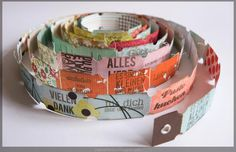 "Paper, ART & Co.: Danipeuss Blog Hop - Ticket""schlange"""