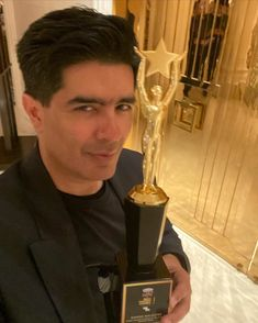 --- Thank you by Honouring my 30 years of costume design and 15 years of my label with the Iconic Fashion Designer of the Country popular choice Award . Manish Malhotra, Choice Awards, India Fashion, 15 Years, Costume Design, Gratitude, Label, Thankful, Positivity