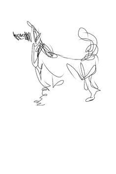 i phone drawing Dog Illustration, Illustrations, Art Sketches, Art Drawings, Scribble Art, Charcoal Art, Dog Paintings, Pen Art, Elements Of Art