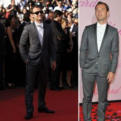 Jude Law, rocking the contrasting lapels