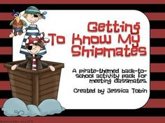 7 back to school, get to know your pirate activities