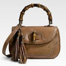 gucci bags bamboo - Google Search