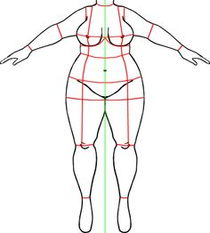 Drawings of Plus Size Women   ... the plus size world, I found none so I drew that one myself. You like