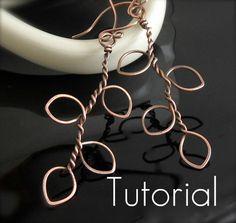 TUTORIAL Tree of Life Earrings