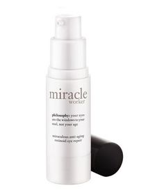 Philosophy Miracle Worker Eye Repair Cream | Smart new products are formulated to pack those under-eye bags and cover up dark circles for good.