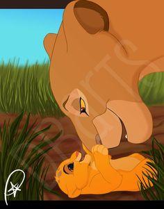 Happy mothers day by thecutelittlekitten on deviantART Lion King Simba's Pride, Lion King 3, Lion King Fan Art, Lion King Movie, Disney Lion King, Lion King Tree, Lion King Pictures, Simba And Nala, Le Roi Lion