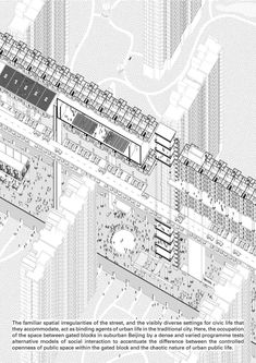 The RIBA President's Medals Student Awards :: Beyond Pragmatism: Rethinking Segregated Suburbia In Beijing by Dan Ladyman - University of Cambridge Cambridge UK