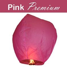 Pink Premium Sky Lanterns (Wholesale)