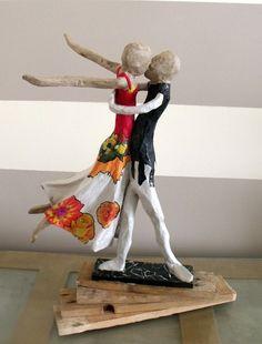 Papier Mache Sculpture | BONJOUR A TOUS ET A TOUTES.