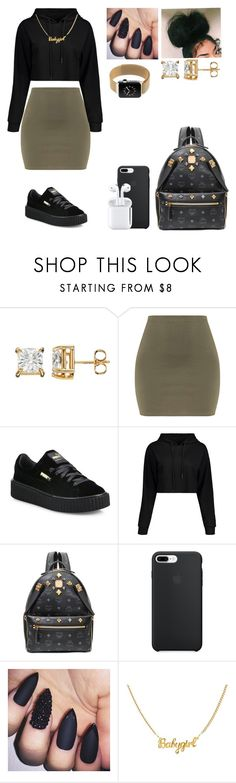 """"""""""" by samyahcarter on Polyvore featuring Puma and MCM"""