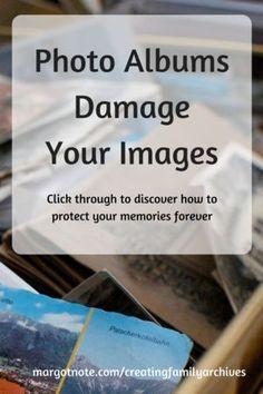 Photo Albums Damage Your Images