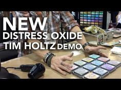 Distress oxide Tim Holtz full demostration at Creativation 2017 - YouTube