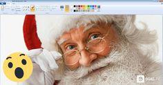 Έφτιαξε τον τέλειο Άγιο Βασίλη χρησιμοποιώντας ΜΟΝΟ την Ζωγραφική των Windows. Μόλις Δείτε ΠΩΣ, θα σας Πέσει το Σαγόνι! Crazynews.gr