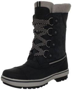"Helly Hansen Women's W Varri Snow Boot Helly Hansen. $160.00. Rubber sole. Made in Vietnam. Heel measures approximately 1."". leather. Shaft measures approximately 8.75"" from arch"