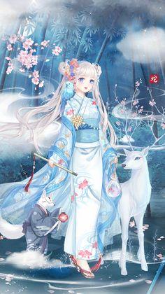 Anime Kimono, Cartoon Photo, Fantasy Dress, Anime Characters, Fictional Characters, Manga Drawing, Anime Outfits, Anime Art, Hoshi