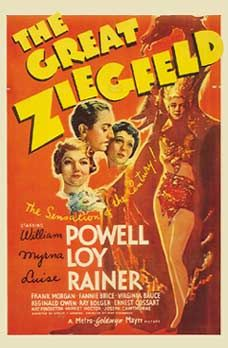 1936 EL GRAN ZIEGFELD (The Great Ziegfeld) Metro-Goldwyn-Mayer Hugh Stromberg Producer