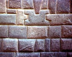 Ancient precision fit stone wall in Cusco. Superior intellect of ancient humans.