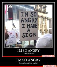 I want to make a sign, but it would just make me late to the reason I am angry. #job #dayoff #oopsnotreally